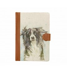 Ash The Dog Linen Notebook
